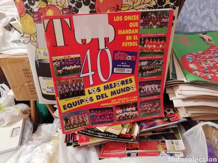 Coleccionismo deportivo: Don balon top 40. 3 números especiales. - Foto 3 - 178245195