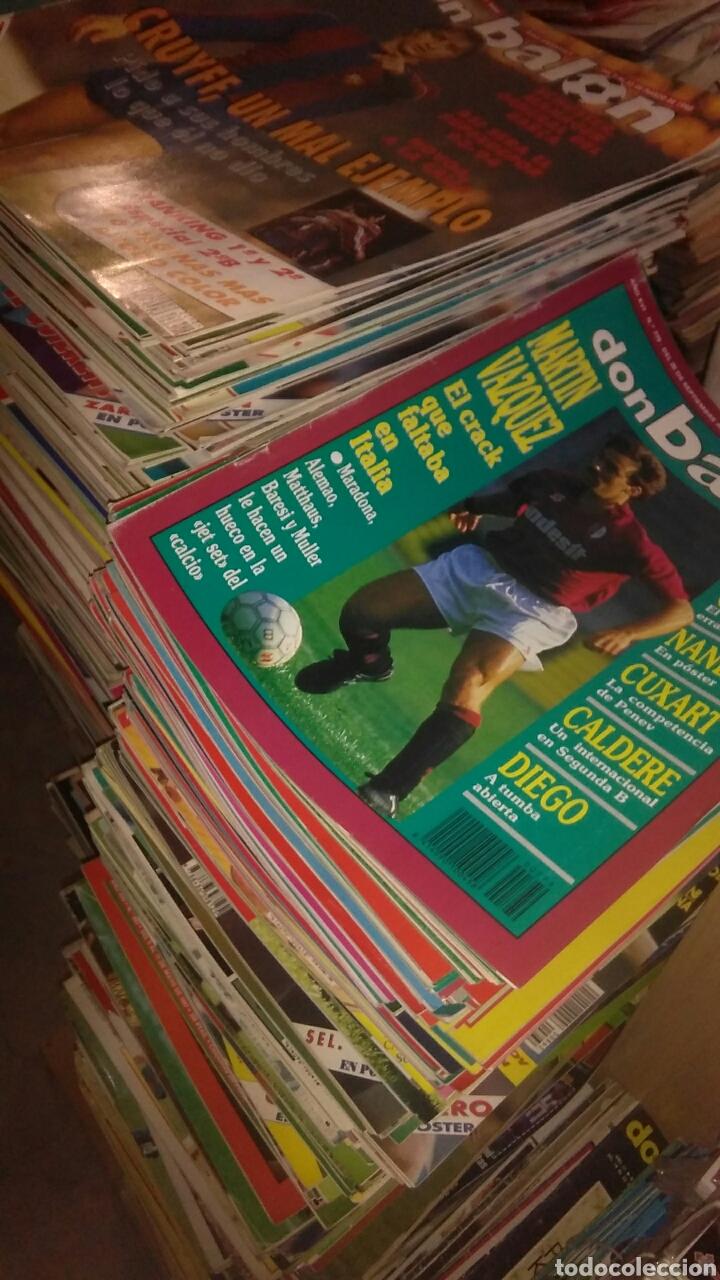 Coleccionismo deportivo: 250 revistas diferentes don balon entre el numero 661 y 954 - Foto 3 - 178293422