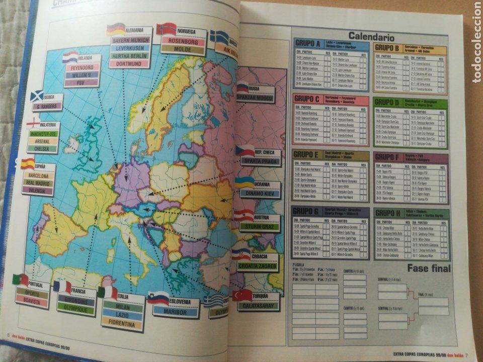 Coleccionismo deportivo: Don Balón Extra Copas Europeas 1999-2000 - Foto 3 - 178339841