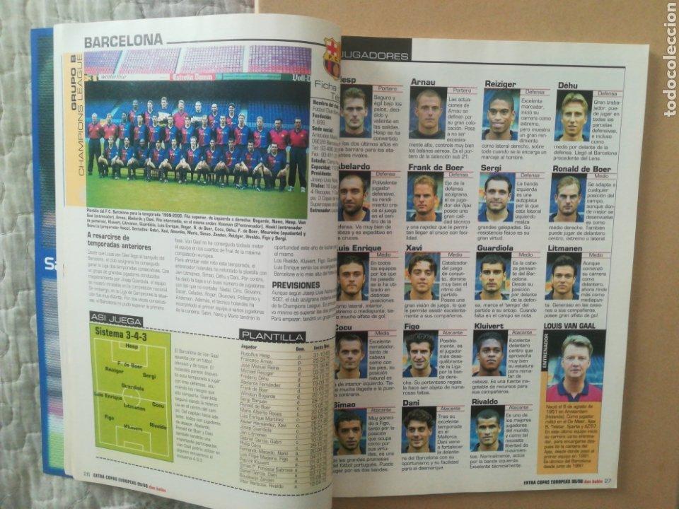 Coleccionismo deportivo: Don Balón Extra Copas Europeas 1999-2000 - Foto 4 - 178339841
