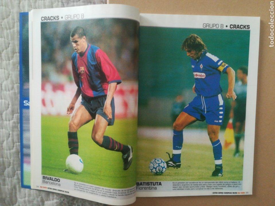 Coleccionismo deportivo: Don Balón Extra Copas Europeas 1999-2000 - Foto 5 - 178339841