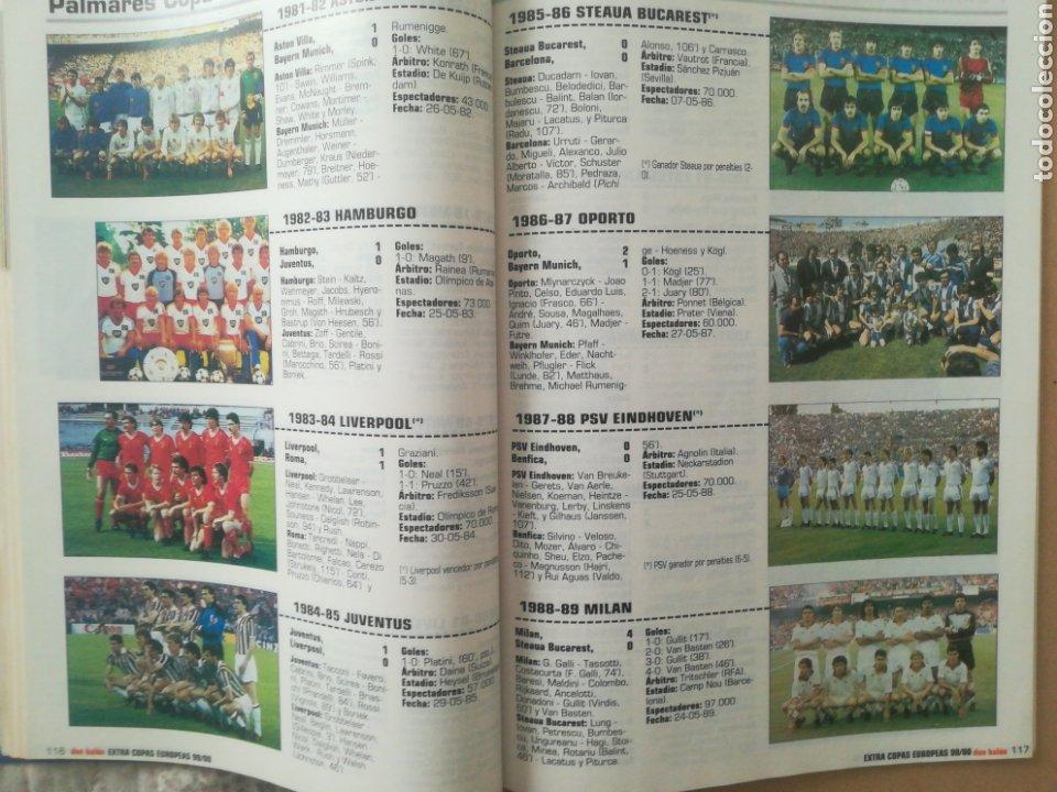 Coleccionismo deportivo: Don Balón Extra Copas Europeas 1999-2000 - Foto 8 - 178339841