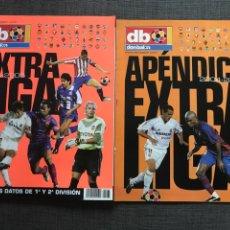 Collectionnisme sportif: FÚTBOL DON BALÓN EXTRA LIGA 2004-05 + APÉNDICE LIGA - AS MARCA ALBUM CROMO SPORT. Lote 178356322