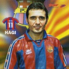 Coleccionismo deportivo: HAGI - F. C. BARCELONA. Lote 178396171