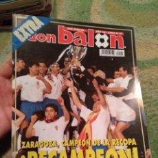 Coleccionismo deportivo: EXTRA DON BALÓN ZARAGOZA CAMPEÓN RECOPA. Lote 178369083
