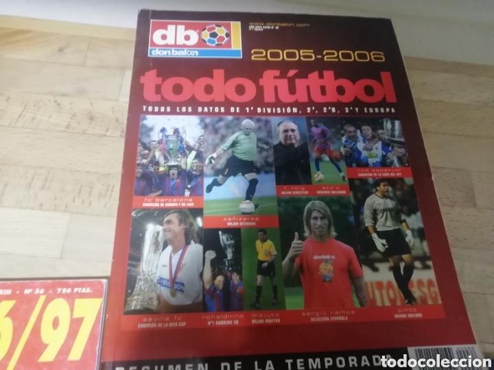 Coleccionismo deportivo: Todofútbol don balon. Como nuevo. 2005- 2006 y 07-08 - Foto 2 - 178589278