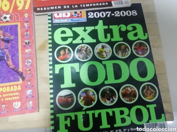 TODOFÚTBOL DON BALON. COMO NUEVO. 2005- 2006 Y 07-08 (Coleccionismo Deportivo - Revistas y Periódicos - Don Balón)