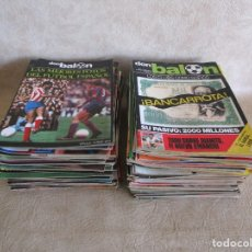 Coleccionismo deportivo: LOTE 100 REVISTAS DON BALON PRIMERA EPOCA. Lote 178596123