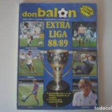 Coleccionismo deportivo: REVISTA DON BALÓN EXTRA LIGA 88/89 (EXTRA Nº 16). Lote 178621201