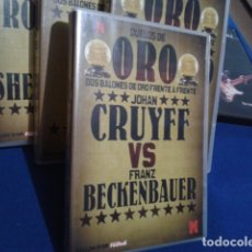 Coleccionismo deportivo: DVD DUELOS DE ORO DOS BALONES DE ORO FRENTE A FRENTE Nº1 ( JOHAN CRUYFF VS FRANZ BECHENBAUER ) 2006. Lote 178621481