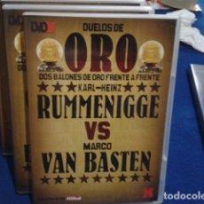 Coleccionismo deportivo: DVD DUELOS DE ORO DOS BALONES DE ORO FRENTE A FRENTE Nº 8 ( RUMMENIGGE VS VAN BASTEN ) 2006 . Lote 178621881