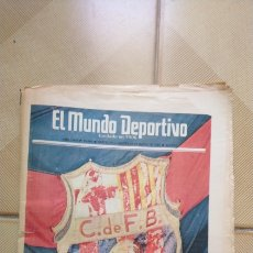 Coleccionismo deportivo: MUNDO DEPORTIVO EXTRA BARÇA CAMPEON LIGA 1985. Lote 178774250