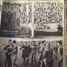 Coleccionismo deportivo: VIDA DEPORTIVA. LOTE DE 100 DE LOS AÑOS 50. Lote 178788688