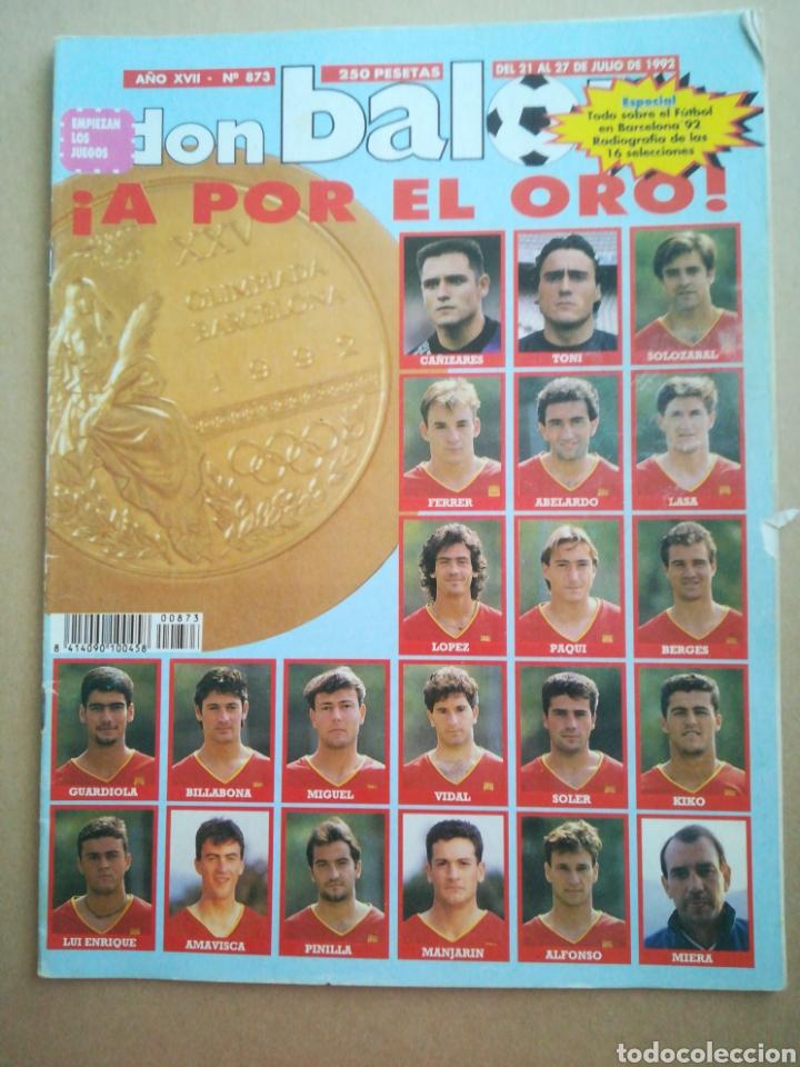 DON BALÓN N°873 (Coleccionismo Deportivo - Revistas y Periódicos - Don Balón)