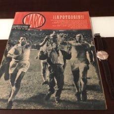 Coleccionismo deportivo: ALUCINANTE MARCA APOTEOSIS REAL MADRID CAMPEÓN DE COPA 1962. Lote 178907386