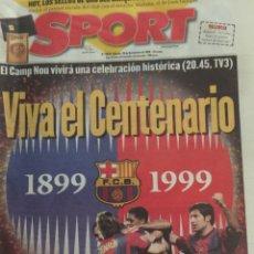 Coleccionismo deportivo: FC BARCELONA CENTENARIO ESPECIAL SPORT. Lote 178920668