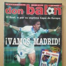 Coleccionismo deportivo: DON BALÓN N°1179. Lote 178944245