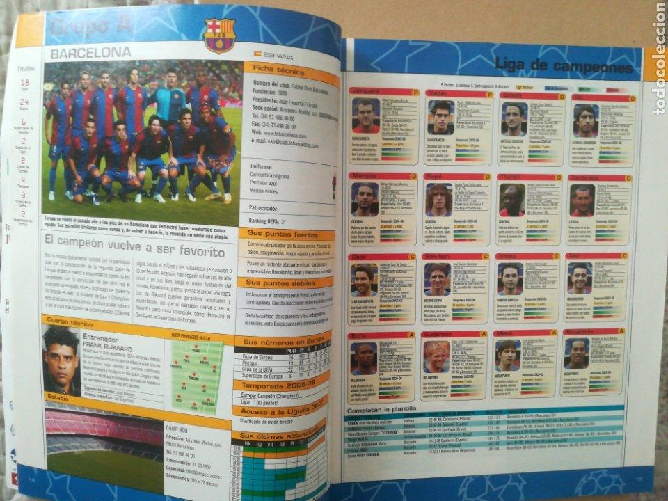 Coleccionismo deportivo: Don Balón Extra Copas Europeas 2006-2007 - Foto 2 - 178944827