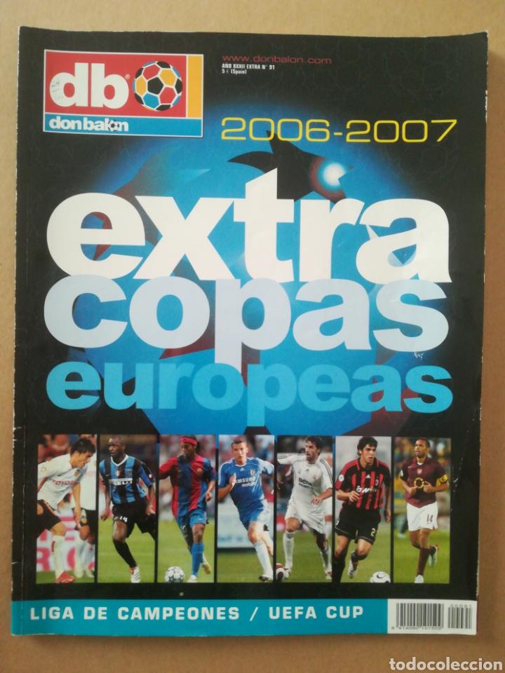 DON BALÓN EXTRA COPAS EUROPEAS 2006-2007 (Coleccionismo Deportivo - Revistas y Periódicos - Don Balón)