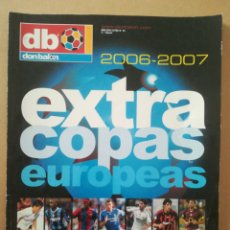 Coleccionismo deportivo: DON BALÓN EXTRA COPAS EUROPEAS 2006-2007. Lote 178944827