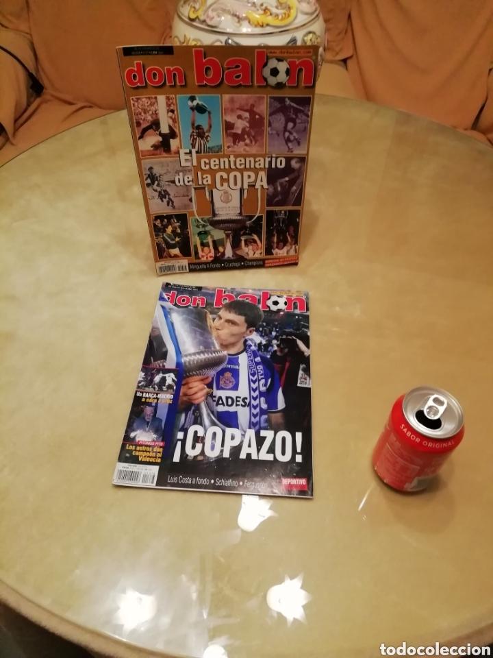 DON BALON. ESPECIALES COPA DEL REY. CENTENARIO Y CENTENARIAZO. (Coleccionismo Deportivo - Revistas y Periódicos - Don Balón)