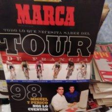 Coleccionismo deportivo: TOUR CICLISMO 1998. GUÍA ESPECIAL MARCA. Lote 178952193
