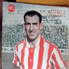 Coleccionismo deportivo: APARICIO EXTREMO IZQUIERDO GRANADA MARCA LAMINA POSTER , ORIGINAL . Lote 178993550