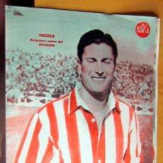 Coleccionismo deportivo: NICOLA DELANTERO CENTRO GRANADA MARCA LAMINA POSTER , ORIGINAL . Lote 178993610