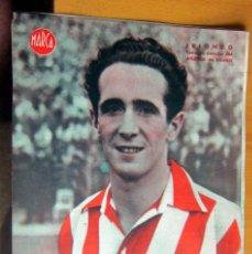 Coleccionismo deportivo: IRIONDO EXTREMO DERECHO ATLETICO DE BILBAO MARCA LAMINA POSTER , ORIGINAL . Lote 178993687