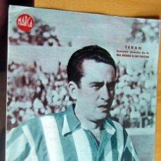Coleccionismo deportivo: TERAN EXTREMO DERECHO REAL SOCIEDAD MARCA LAMINA POSTER , ORIGINAL . Lote 178994437