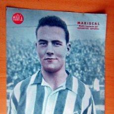 Coleccionismo deportivo: MARISCAL MEDIO IZQUIERDO ESPAÑOL MARCA LAMINA POSTER , ORIGINAL . Lote 178994745