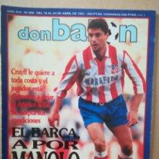 Coleccionismo deportivo: DON BALÓN N°808. Lote 179027827