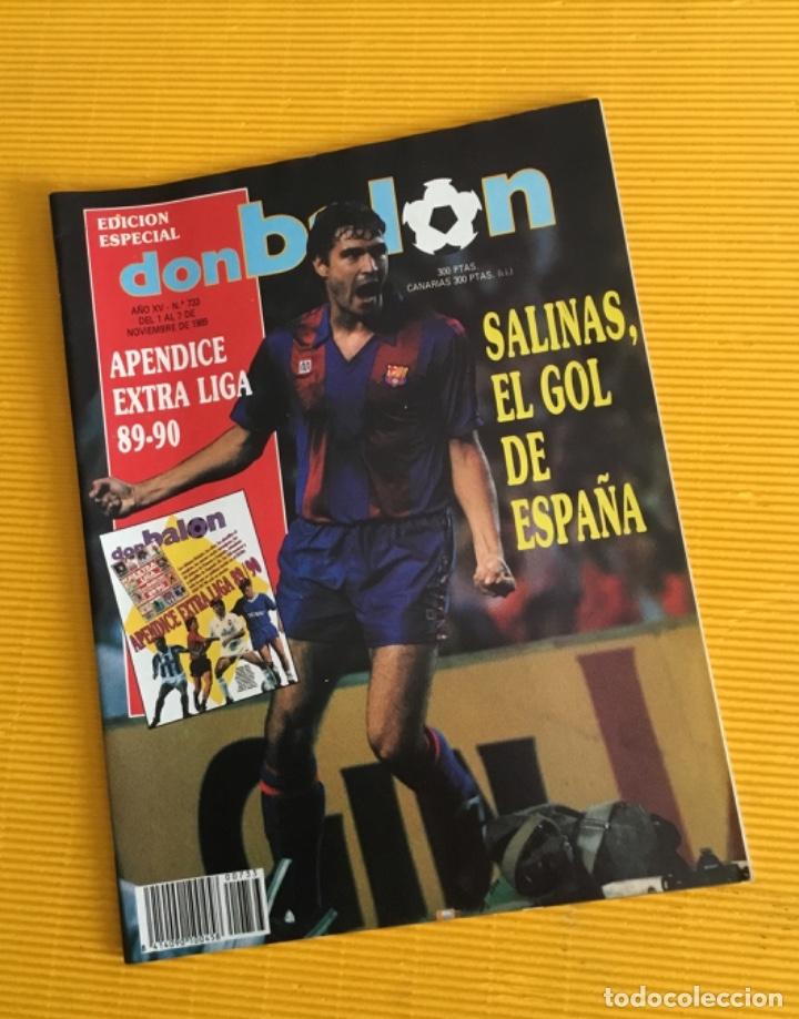 DON BALÓN EDICIÓN ESPECIAL NÚMERO 733 CON EL APÉNDICE EXTRA LIGA TAN DIFÍCIL DE CONSEGUIR (Coleccionismo Deportivo - Revistas y Periódicos - Don Balón)