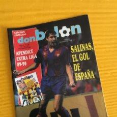 Coleccionismo deportivo: DON BALÓN EDICIÓN ESPECIAL NÚMERO 733 CON EL APÉNDICE EXTRA LIGA TAN DIFÍCIL DE CONSEGUIR. Lote 179086722