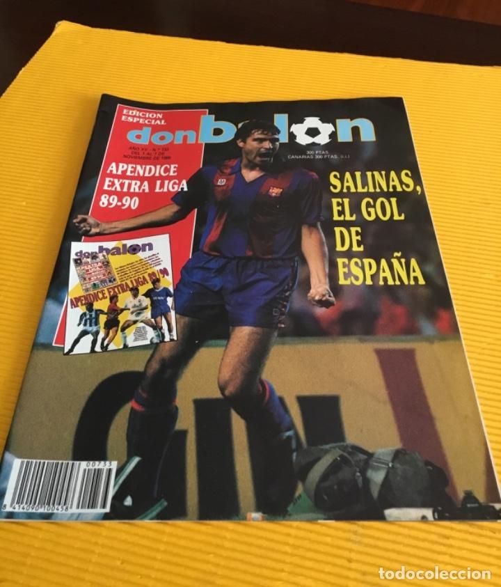 Coleccionismo deportivo: Don balón edición especial número 733 con el apéndice extra liga tan difícil de conseguir - Foto 2 - 179086722