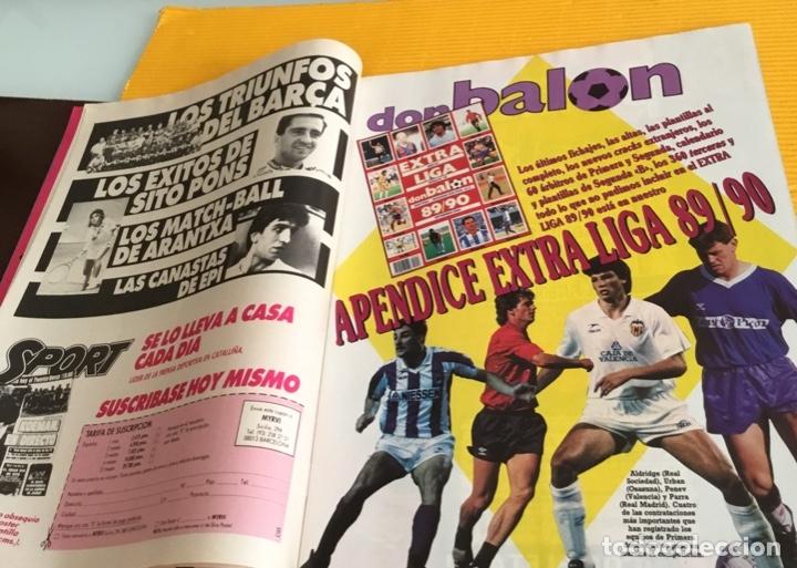 Coleccionismo deportivo: Don balón edición especial número 733 con el apéndice extra liga tan difícil de conseguir - Foto 7 - 179086722