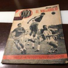 Coleccionismo deportivo: ANTIGUO MARCA 1962 ALIRON PARA EL VALLADOLID . Lote 179126923