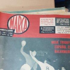 Coleccionismo deportivo: REVISTA MARCA 9 ABRIL 1963. Lote 179171883