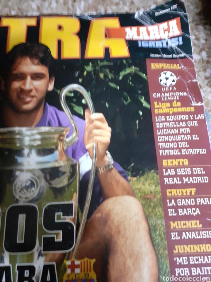 Coleccionismo deportivo: Rev EXTRA-MARCA SUPL.1997 Rptje .UEFA-CHAMPIONS, GENTO- CRUYFF,RONALDO,MARADONA-ver fotos- - Foto 2 - 27246102