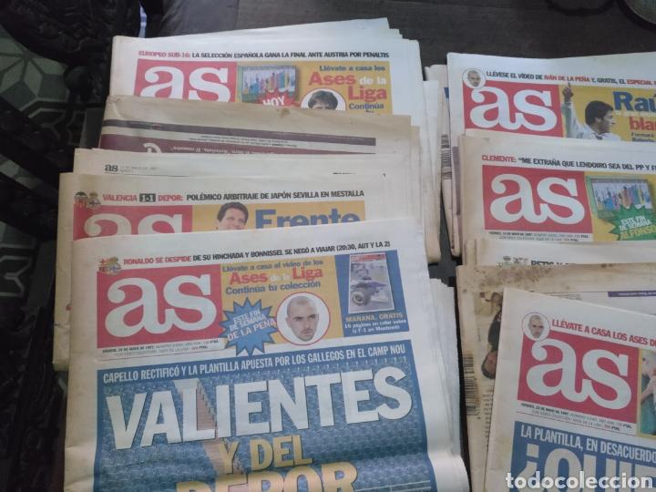 LOTE DE 38 EJEMPLARES DEL AS AÑO 1997 (Coleccionismo Deportivo - Revistas y Periódicos - As)