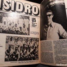 Coleccionismo deportivo: ENTREVISTA A ISIDRO , JUGADOR DEL REAL MADRID . 5 PAGINAS AÑO 1981. Lote 179204510