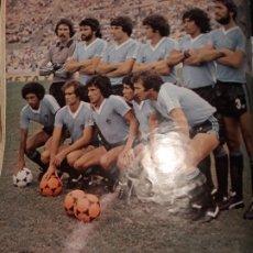 Coleccionismo deportivo: SELECCION DE URUGUAY CAMPEONA DEL MUNDIALITO DEL AÑO 1981 - HOJA REVISTA AÑO 1981. Lote 179206441