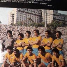 Coleccionismo deportivo: SELECCION DE BRASIL SUBCAMPEONA DEL MUNDIALITO DEL AÑO 1981 - HOJA REVISTA AÑO 1981. Lote 179206540