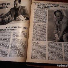 Coleccionismo deportivo: ENTREVISTA AL ENTRENADOR DE FUTBOL LUIS CID , CARRIEGA . 4 PAGINAS , AÑO 1981 -. Lote 179225987