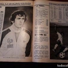 Coleccionismo deportivo: REPORTAJE DE LA SELECCION DE FRANCIA DE FUTBOL - 4 PAGINAS - REVISTA DEL AÑO 1981. Lote 179228083