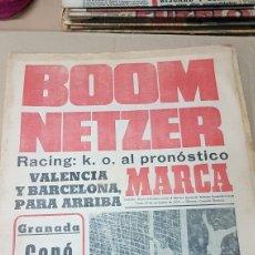 Coleccionismo deportivo: DIARIO MARCA BOOM NETZER. Lote 179257160