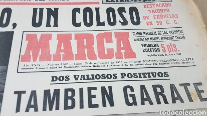 Coleccionismo deportivo: Diario Marca septiembre 1970 nieto un coloso - Foto 2 - 179264921