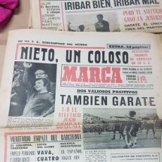 Coleccionismo deportivo: DIARIO MARCA SEPTIEMBRE 1970 NIETO UN COLOSO. Lote 179264921