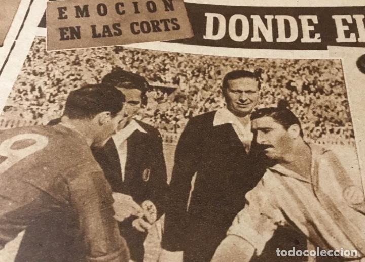 Coleccionismo deportivo: Antiguo marca Barcelona campeón de liga 1949 totalmente original - Foto 11 - 179342762