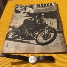 Coleccionismo deportivo: ANTIGUA MARCA MOTOCICLISMO VESPA PEGASO LUBE 1955. Lote 179343638